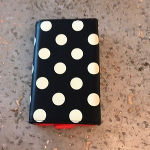 kate spade Accessories - Kate Spade Polka Dot iPhone 5&6/iPod Wallet Case